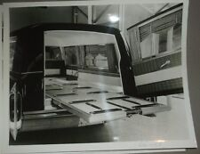 1966 Miller Meteor Funeral Coach Hearse Cadillac Chassis Brochure B&W Photo