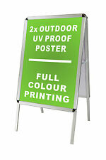 Double Sided A1 Snap A Frame/Board Display Sign