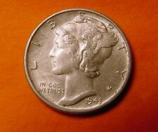 1943-S MERCURY DIME 10¢ HIGH GRADE!!!! Winged Liberty Head #578041
