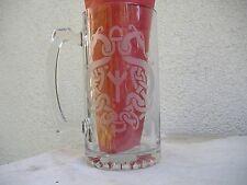 asatru twin serpent xl beer mug life/odal rune thor's hammer