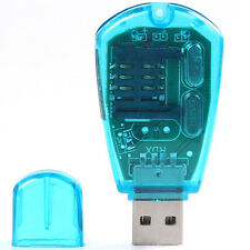 SIM Card Reader Copy Cloner Writer SMS Backup SIM Cards USB Cellphone