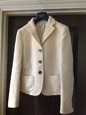 Women blazer Weekend Max Mara white 100% wool