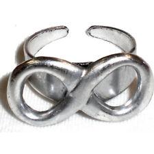 Anello con INFINITO regolabile in metallo
