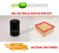 PETROL SERVICE KIT OIL AIR FILTER FOR PEUGEOT 206 CC 2.0 136 BHP 2000-07