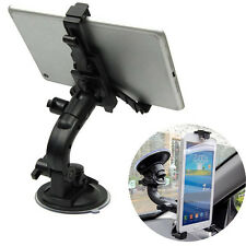 "Car Windshield Mount Mobile Holder Stand Bracket For 5""~8"" Cellphone Tablet"