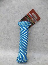 NEW 50 ft. Nylon Paracord BLUE & YELLOW ~FREE SHIPPING