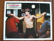 JIM KELLY PHOTO EXPLOITATION LOBBY CARD LA CEINTURE NOIRE R. CLOUSE