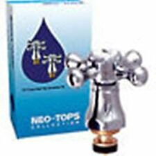 "NEO TOPS 1/2"" TAP REVIVERS CROSS HEAD TCK3 CHROME PLATED - PAIR"