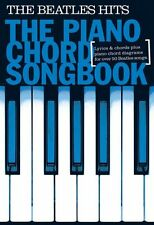 Piano Chord Songbook The Beatles Hits Learn to Play Keyboard Music Book
