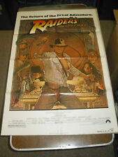 RAIDERS OF THE LOST ARK/REISSUE 1982 U.S. ONE SHEET MOVIE POSTER(HARRISON FORD)
