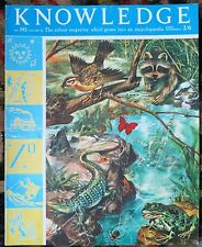 Knowledge magazine No192 Henry IV, The Orthoptera, Elizaberthan Drama, 1966