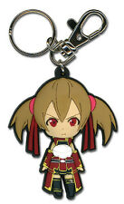 SWORD ART ONLINE - ANGRY SILICA SD PVC KEYCHAIN