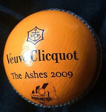 VEUVE CLICQUOT  CRICKET BALL THE ASHES 2009  VERY RARE BRAND NEW NEVER USED