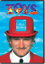 TOYS DVD (2013) SEALED - ROBIN WILLIAMS - AUTHENTIC US RELEASE