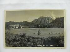 postcard Postkarte Dutch Indies Indonesia mountains Grand Hotel Brastagi unused