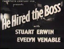 HE HIRED THE BOSS 1942 STUART ERWIN, EVELYN VENABLE