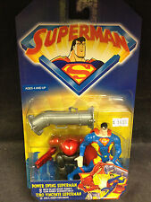 SUPERMAN ANIMATED SERIES POWER SWING SUPERMAN ACTION FIGURE KENNER JLU JLA WB