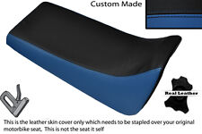 BLACK & ROYAL BLUE CUSTOM FITS YAMAHA BLASTER YFS 200 DUAL LEATHER SEAT COVER