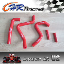 silicone radiator hose for Kawasaki KX250 KX 250 1994-2002 2000 2001 red