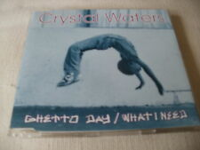 CRYSTAL WATERS - GHETTO DAY / WHAT I NEED - UK CD SINGLE