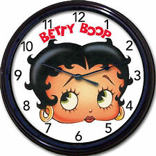 Betty Boop Wall Clock Cartoon Character Comic Strip Jazz Flapper New 10""