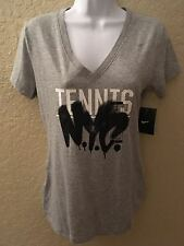 NIKE WOMEN PRACTICE TENNIS SHIRT NY OPEN