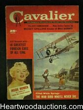Cavalier Mar 1960 Mickey Spillane,Marilyn Monroe