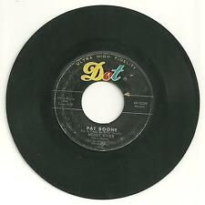 DOT 45 Record: PAT BOONE: Moody River, A Thousand Years