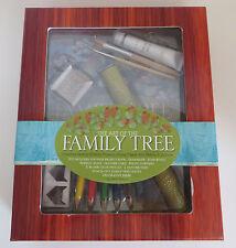 The Art of the Family Tree Project Kit History Geneology Jenn Mason