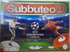 Subbuteo The Game ~ Uefa Champions League Edition Set ~ Official Licensed