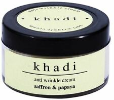 Khadi Saffron & Papaya Anti Wrinkle Cream Skincare Unique Formulation 50 ml