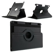 "FUNDA CON TAPA GIRATORIA 360º AMAZON KINDLE FIRE HDX 8.9 8"" PIEL CUERO NEGRA"
