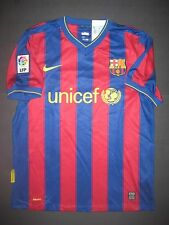 New 2009-2010 Nike Authentic FC Barcelona Home Jersey Shirt Kit Trikot Messi