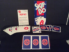 1995 Mattel Skip Bo Family Card Game, Ages 7+, 2 to 6 players