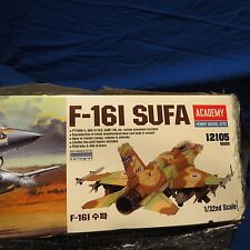 NEW IN BOX F-16 i SUFA 1/32 IDF ACADEMY PLASTIC MODEL ISRAEL IDF-AF FALCON
