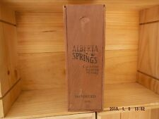 Alberta Springs Canadian  Sipping Whiskey Box