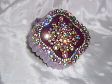 NEW JOAN RIVERS Crystal PIN / BROOCH & Trinket Treasure Box