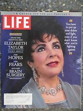 Life Magazine  April 1997  Elizabeth Taylor  Talks About Her Brain Surgery
