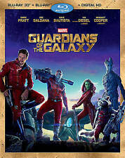 Guardians of the Galaxy 3D (Blu-ray Disc, 2014, 3D)