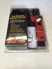 Power Probe 3 III PP319FT-RED Red Powerprobe III With Voltmeter and  CD.