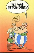 Asterix et Obelix Romain carte postale cp postcard Goscinny Uderzo La Question