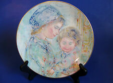 """Royal Doulton Collector Plate """"Colette and Child"""" by Edna Hibel -1st. of Series"""