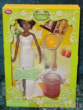 "Disney Princess and the Frog Tiana 11"" Deluxe Singing Doll Set NEW!"
