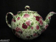 1 Heron Cross Pottery SUMMERTIME Chintz English 3 Cup Tea Pot or 2 mugs