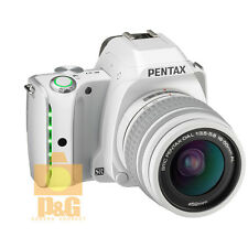 NEW BOXED PENTAX K-S1 KS1 CAMERA WHITE + SMC DA L 18-55mm AL LENS KIT