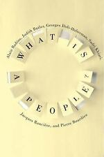 New Directions in Critical Theory: What Is a People? by Judith Butler, Alain...