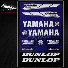 Automotive Sponsor Logo Decal Sticker Motorcycle/Bike/ATV/Helmet for Yamaha Blue