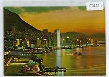 C4411cgt Hong Kong Victoria at Dusk postcard