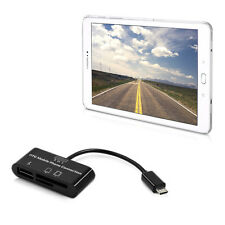 SLL 3 in 1 MICRO USB CARD READER PER SAMSUNG GALAXY TAB s2 9.7 t810n t813n