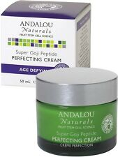 Super Goji Peptide Perfecting Cream, Andalou Naturals, 1.7 oz